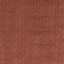 Cranberry Velvet Drapery and Upholstery Fabric by G P & J Baker