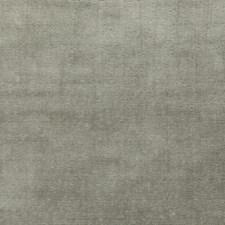 Pewter Velvet Drapery and Upholstery Fabric by G P & J Baker