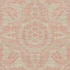 Pink Damask Drapery and Upholstery Fabric by Lee Jofa