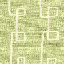 Green/Natural Modern Drapery and Upholstery Fabric by Lee Jofa