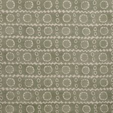 Green Print Drapery and Upholstery Fabric by Lee Jofa
