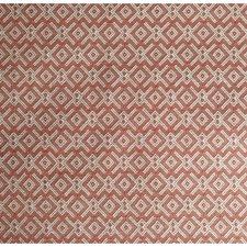Orange Geometric Drapery and Upholstery Fabric by Lee Jofa
