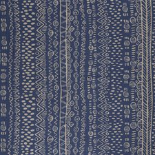 Azure Print Drapery and Upholstery Fabric by Lee Jofa