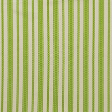 Lime Stripes Drapery and Upholstery Fabric by Lee Jofa