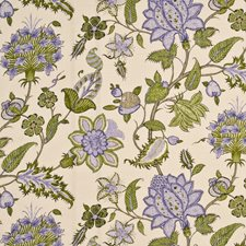 Spring/Mauve Botanical Drapery and Upholstery Fabric by G P & J Baker