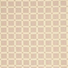Lilac Gingham Drapery and Upholstery Fabric by G P & J Baker