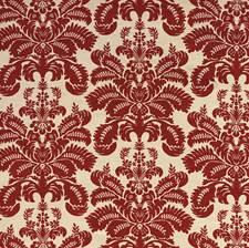 Brick Velvet Drapery and Upholstery Fabric by G P & J Baker