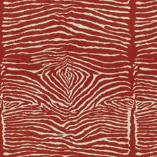 Red Animal Skins Drapery and Upholstery Fabric by Brunschwig & Fils