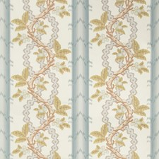 Slate/Grey Botanical Drapery and Upholstery Fabric by Brunschwig & Fils