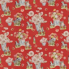Flame Figurative Drapery and Upholstery Fabric by Brunschwig & Fils