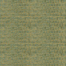 Aquamarine Texture Drapery and Upholstery Fabric by Brunschwig & Fils