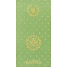 Green Drapery and Upholstery Fabric by Brunschwig & Fils