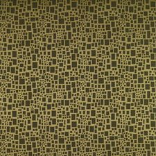 Chartreuse Geometric Drapery and Upholstery Fabric by Brunschwig & Fils