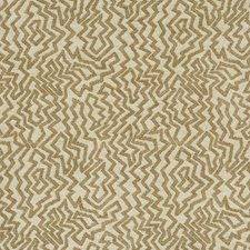 Taupe Geometric Drapery and Upholstery Fabric by Brunschwig & Fils