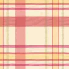 Blush Plaid Drapery and Upholstery Fabric by Brunschwig & Fils