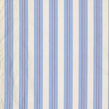 Multi/Blue/Purple Stripes Drapery and Upholstery Fabric by Brunschwig & Fils