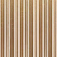 Gold Stripes Drapery and Upholstery Fabric by Brunschwig & Fils