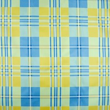Sky Blue Soleil Drapery and Upholstery Fabric by Brunschwig & Fils