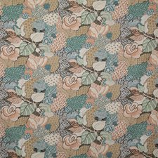 Bisque Print Drapery and Upholstery Fabric by Pindler