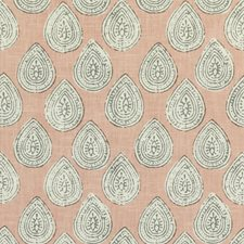Pink/Grey/White Paisley Drapery and Upholstery Fabric by Kravet