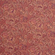 Burgundy/Red/Brown Paisley Drapery and Upholstery Fabric by Kravet