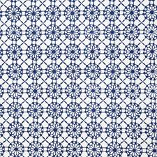 Navy Ethnic Drapery and Upholstery Fabric by Pindler