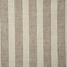 Mocha Stripe Drapery and Upholstery Fabric by Pindler