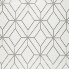 Gray Diamond Drapery and Upholstery Fabric by JF