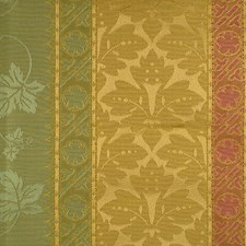 Pink/Verde Drapery and Upholstery Fabric by Scalamandre