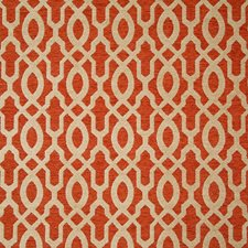 Persimmon Damask Drapery and Upholstery Fabric by Pindler