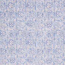 Blue Iris Drapery and Upholstery Fabric by RM Coco