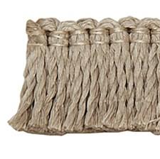 Fringe Brush Linen Trim by Pindler