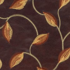 Wood Embroidery Drapery and Upholstery Fabric by Kasmir