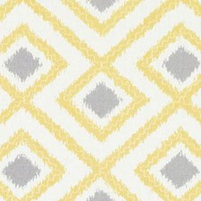 Canary Diamond Drapery and Upholstery Fabric by Duralee
