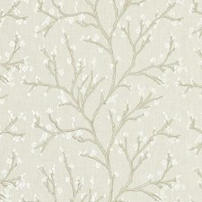 Sand Embroidery Drapery and Upholstery Fabric by Duralee