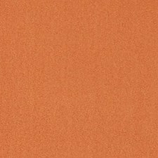 Tangerine Faux Leather Drapery and Upholstery Fabric by Duralee