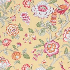 Maize Drapery and Upholstery Fabric by RM Coco
