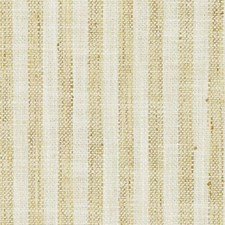 Creme/Gold Stripe Drapery and Upholstery Fabric by Duralee