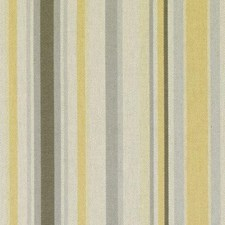 Gold/Silver Stripe Drapery and Upholstery Fabric by Duralee