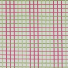 Pink/Green Plaid Drapery and Upholstery Fabric by Duralee