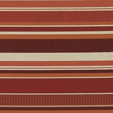 Cayenne Stripe Drapery and Upholstery Fabric by Duralee