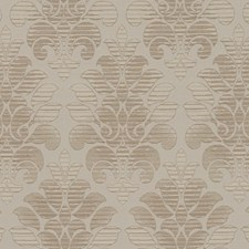 Sand Damask Drapery and Upholstery Fabric by Duralee
