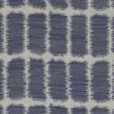Indigo Abstract Drapery and Upholstery Fabric by Duralee