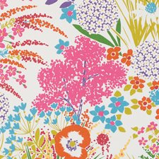 Multi Floral Large Drapery and Upholstery Fabric by Duralee