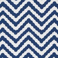 Lapis Herringbone Drapery and Upholstery Fabric by Duralee
