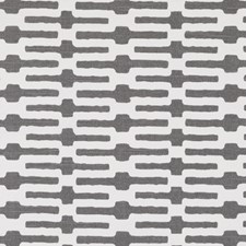 Iron Geometric Drapery and Upholstery Fabric by Duralee