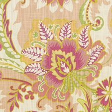 Melon Floral Large Drapery and Upholstery Fabric by Duralee