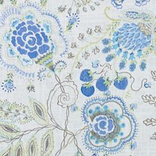 Cornflower Drapery and Upholstery Fabric by Duralee