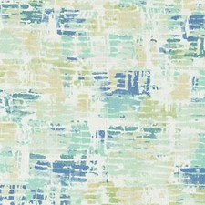 Blue/Green Abstract Drapery and Upholstery Fabric by Duralee
