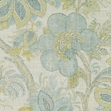 Mineral Botanical Drapery and Upholstery Fabric by Duralee